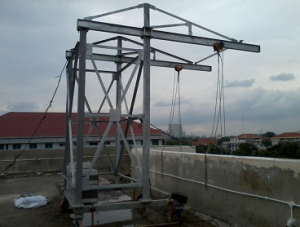 Mobile Roof Double Arm