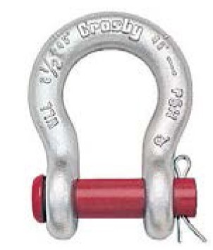 Shackle Round Pin