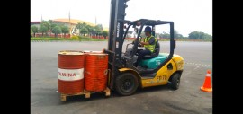 Blended Training Operator Forklift Surabaya 22 – 24 October 2020