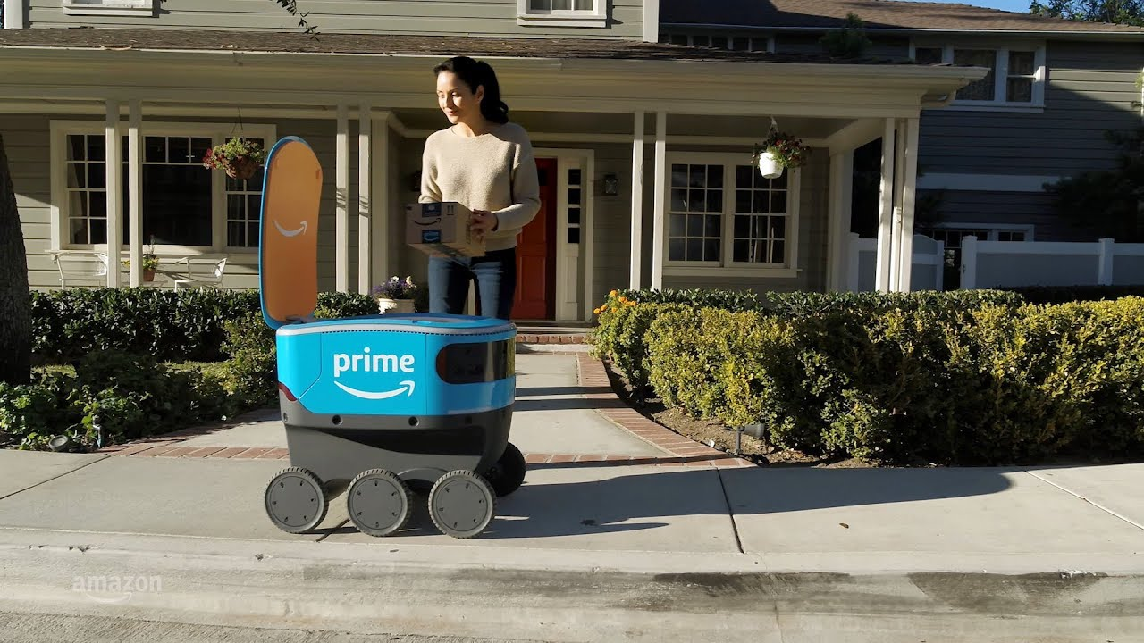 Robot Delivery Amazon