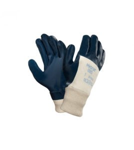 Abrasive safety gloves