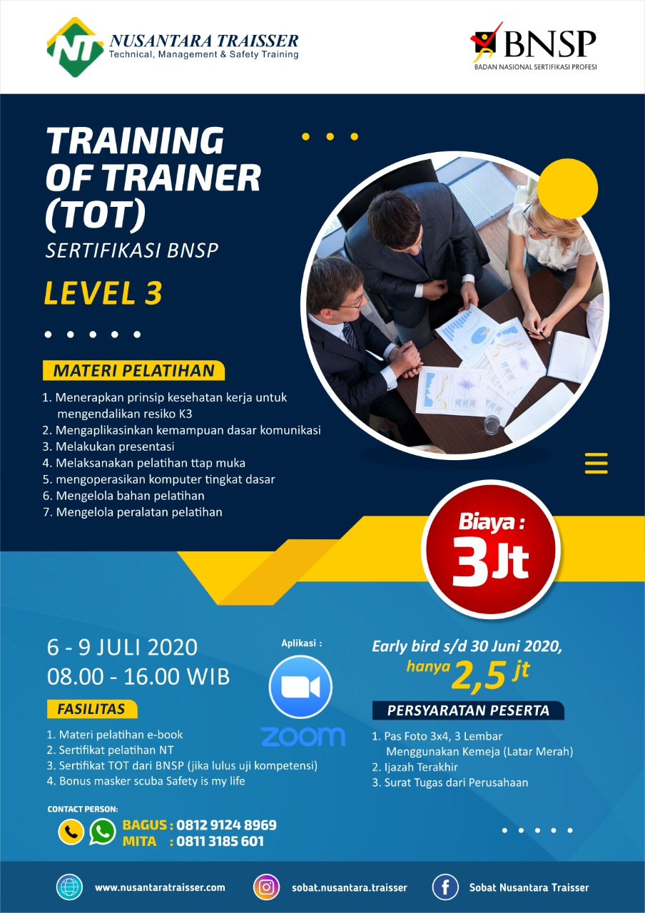 Training Of Trainer Online