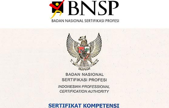 APA ITU SERTIFIKASI BNSP