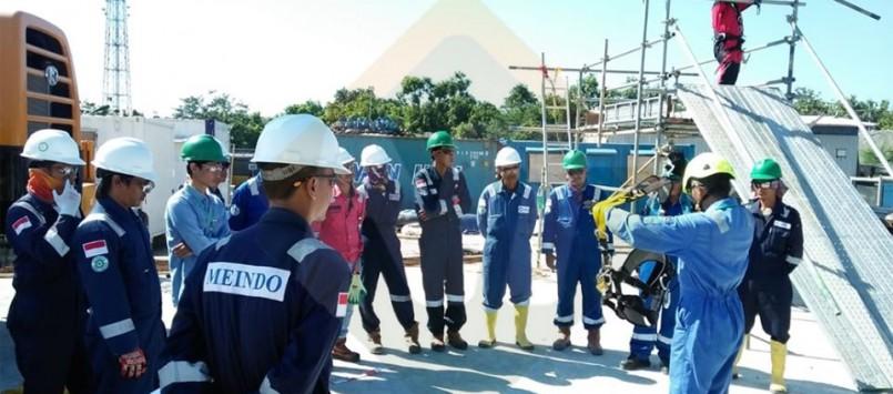 Dokumentasi Pelatihan & Sertifikasi Tenaga Kerja Bangunan Tinggi Tingkat II PT. Meindo Elang Indah Bojonegoro