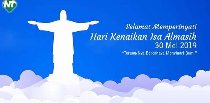 Selamat Hari Kenaikan Isa Al – Masih