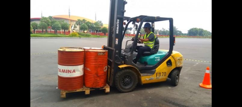 Blended Training Operator Forklift Surabaya 22 – 24 October 2020