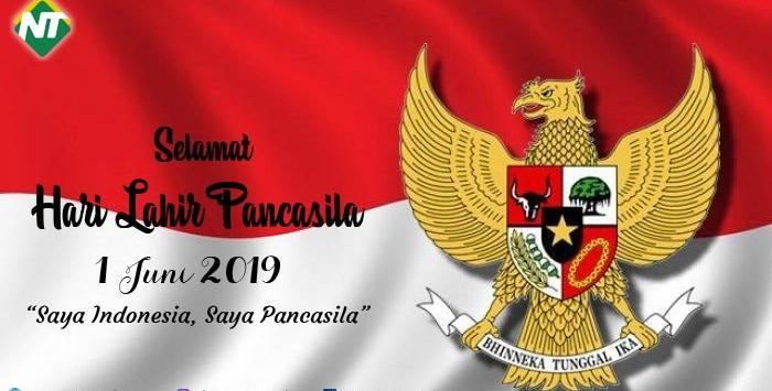 Selamat Hari Lahir Pancasila 1 Juni 2019