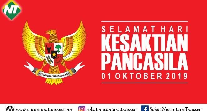 Hari Kesaktian Pancasila 1 Oktober 2019