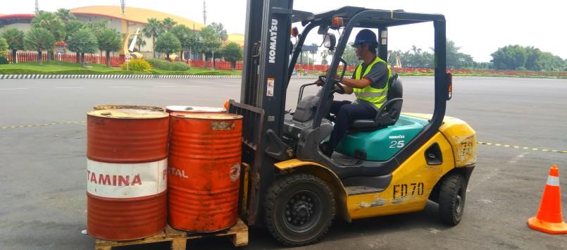 Pembinaan dan Sertifikasi Operator Forklift 16 – 18 Des 2019 Surabaya