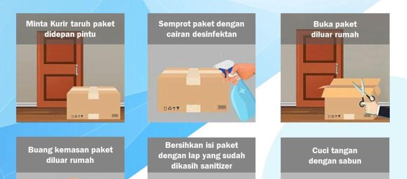 Tips Menerima Paket Di Musim Pandemi Covid-19