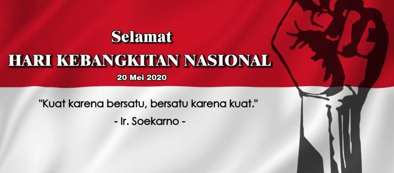 Selamat Hari Kebangkitan Nasional 2020