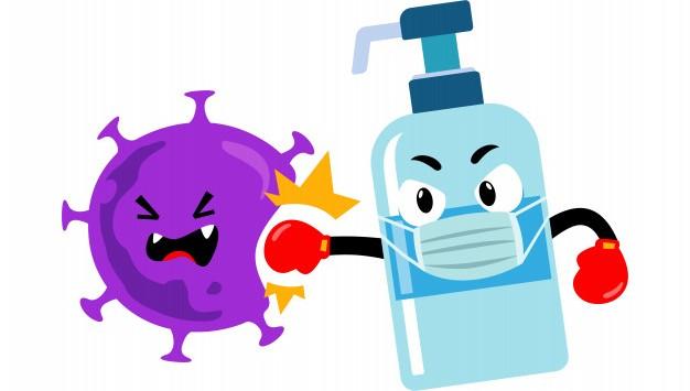 Pentingnya Penggunaan Hand Sanitizer