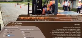 Pelatihan Operator Forklift Juni 2021 Blended Training